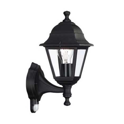 Philips Massive 71422/01/30 - LIMA szenzoros fali lámpa 1xE27/60W fekete