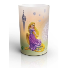 Philips Massive 71711/03/16 - LED-es asztali lámpa  CANDLES DISNEY RAPUNZEL 0,125W LED