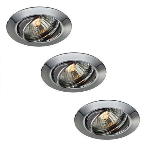 Philips Massive LED 59333/11/10-3X 10W-LED- KÉSZLET fürdőszobai süllyesztett lámpa OPAL 3xLED/10W