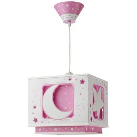 PINK MOON gyermek csillár 1xE27/60W