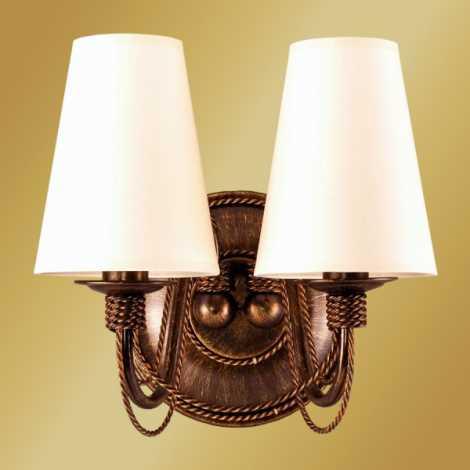 PRETO S fali lámpa 2xE14/60W