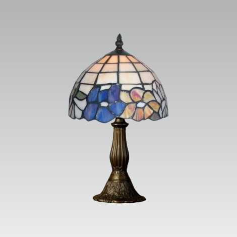 PREZENT 107 - TIFFANY asztali lámpa 1xE14/40W