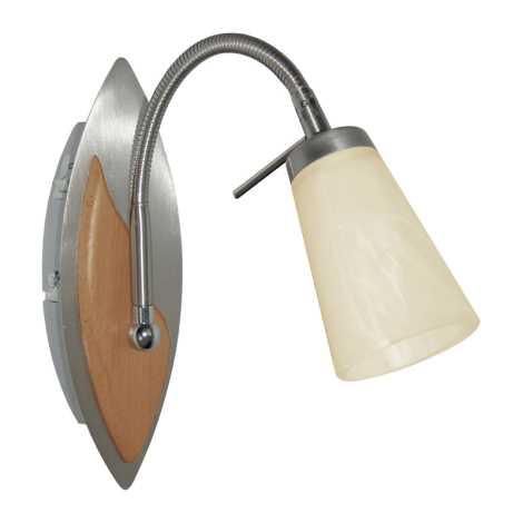 PREZENT 12052 - RAFAEL fali lámpa 1xG9/40W világos fa