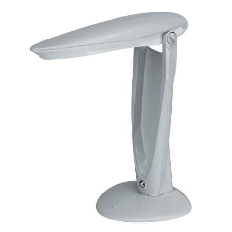 PREZENT 1219 - DESK LAMP gyerek asztali lámpa 1xPLC/11W világos szürke