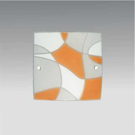 PREZENT 1338 - ASPIS fali/mennyezeti lámpa 1xE27/60W narancs