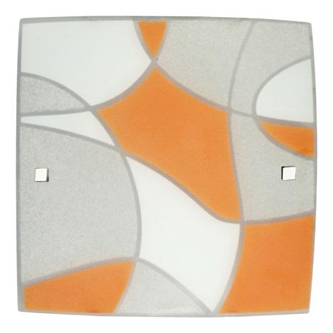 PREZENT 1339 - ASPIS fali/mennyezeti lámpa 2xE27/60W narancs