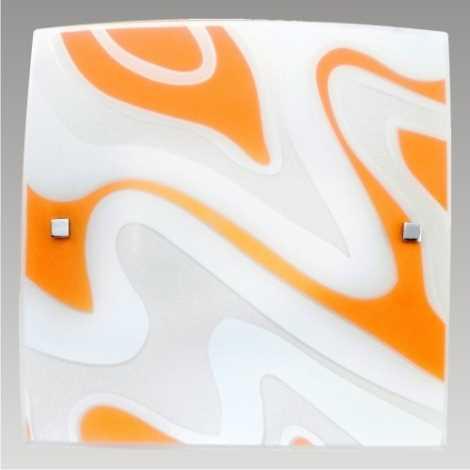 PREZENT 1387 - ORIX mennyezeti lámpa 2xE27/60W narancs