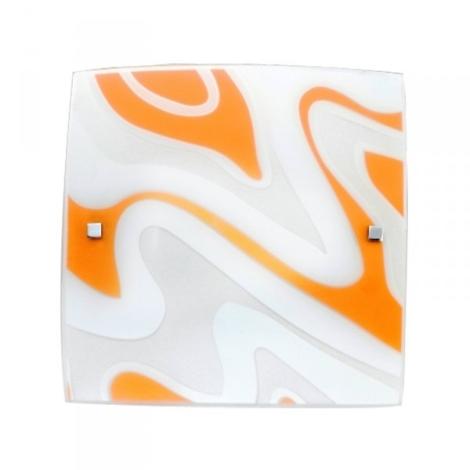PREZENT 1388 - ORIX mennyezeti lámpa 1xE27/60W narancs