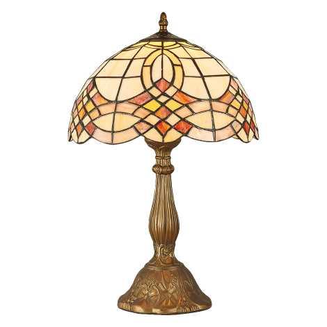 Prezent 139 - Asztali lámpa TIFFANY 1xE27/60W/230V