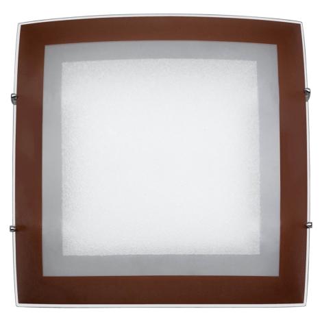 PREZENT 1398 - ARCADA mennyezeti lámpa 2xE27/60W barna