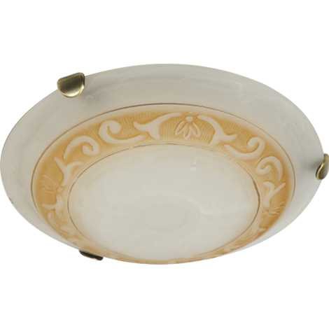 PREZENT 1444 - ARABICA mennyezeti lámpa 1xE27/60W patinás