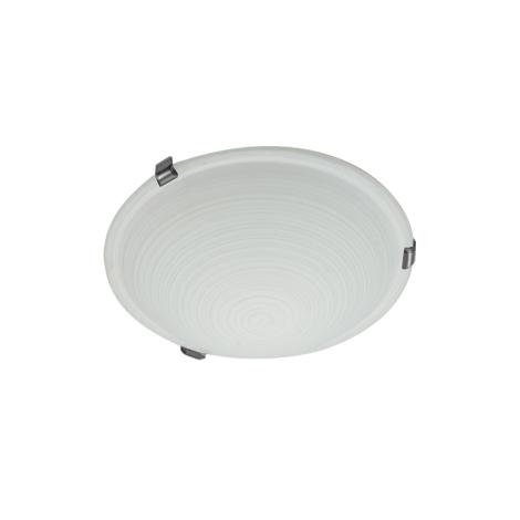 PREZENT 1447 - CYCLO mennyezeti lámpa 1xE27/60W matt króm fehér