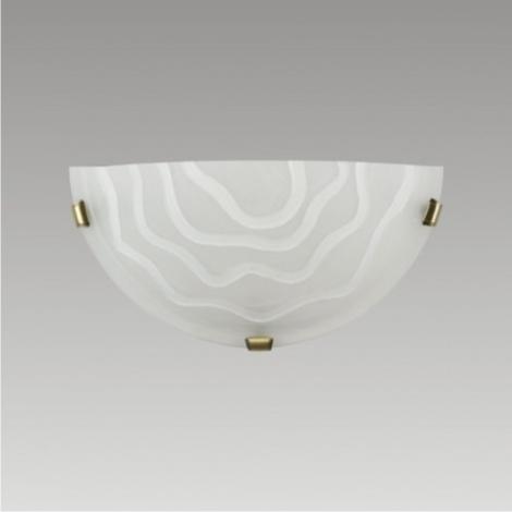 PREZENT 1456 - VEZUV  fali lámpa 1xE27/60W matt króm