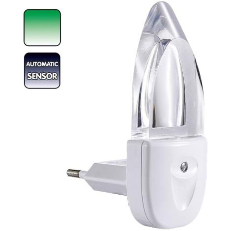 PREZENT 1612 - MINI-LIGHT éjjeli fény LED/0,3W zöld fényű