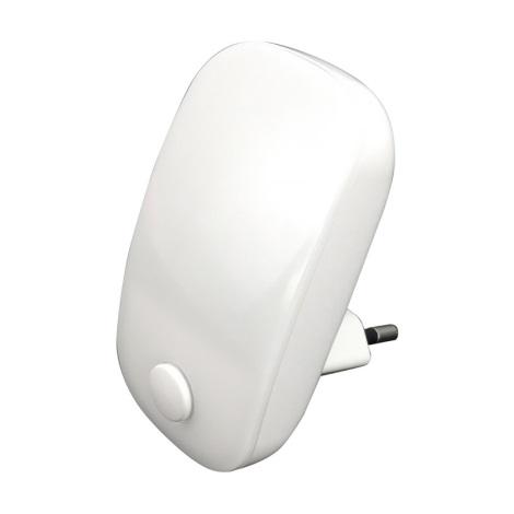 Prezent 1620 - LED konnektoros lámpa 2xLED/0,3W/230V kapcsoló