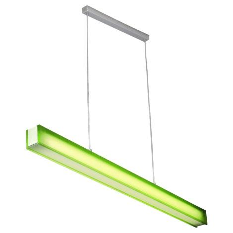 PREZENT 22002 - OFINNA fénycsöves függeszték 1xT5/28W zöld