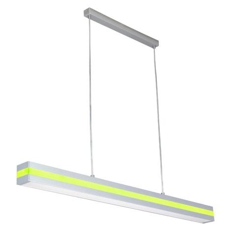 PREZENT 22009 - OFINNA fénycsöves függeszték 1xT5/28W ezüst/zöld