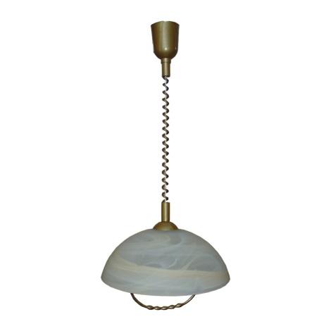 PREZENT 23069 - ALBERT csillár állítható 1xE27/60W hnědý 650-1180 mm