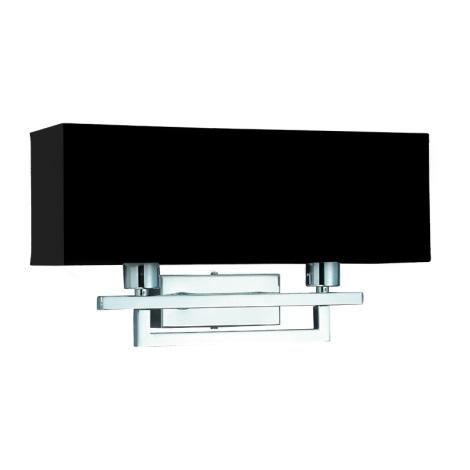PREZENT 25042 - MADRID fali lámpa 2xE14/40W fekete