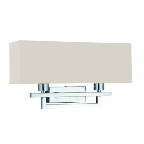 PREZENT 25043 - MADRID fali lámpa 2xE14/40W bézs