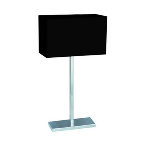PREZENT 25044 - MADRID asztali lámpa 1xE27/60W fekete