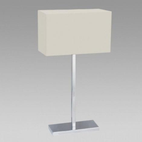 PREZENT 25045 - MADRID asztali lámpa 1xE27/60W bézs