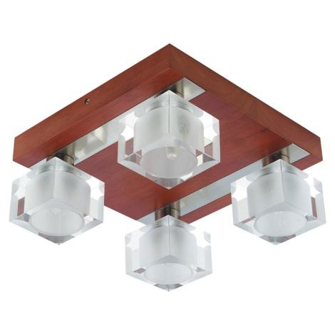PREZENT 25067 - OMEGA mennyezeti lámpa 4xG9/40W