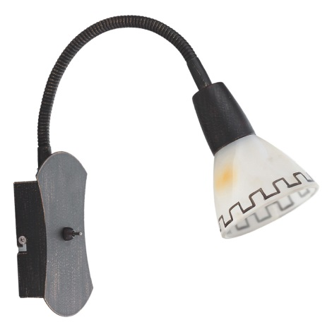 PREZENT 25072 - AZTEC fali lámpa 1xE14/40W