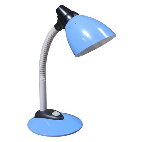 PREZENT 26008 - JOKER asztali lámpa 1xE14/40W világos kék