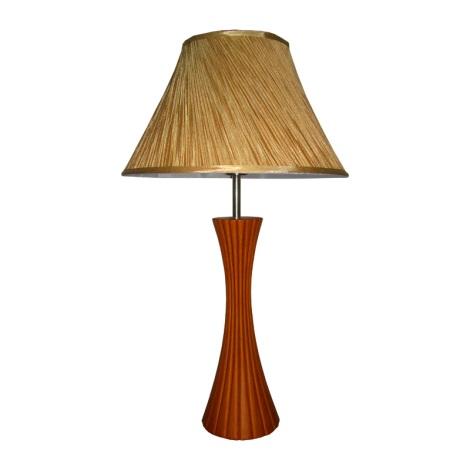 PREZENT 27001 - SIGLO asztali lámpa 1xE27/60W cseresznye
