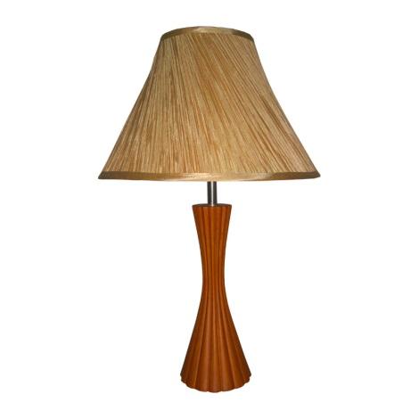 PREZENT 27002 - SIGLO asztali lámpa 1xE27/60W cseresznye