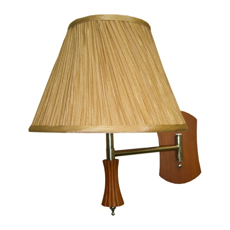 PREZENT 27004 - SIGLO fali lámpa 1xE27/60W cseresznye
