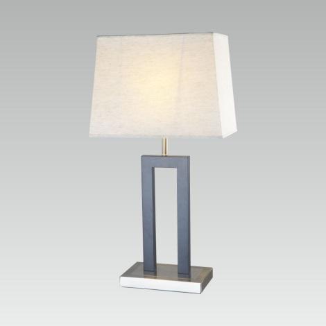PREZENT 27008 - SIGLO asztali lámpa 1xE27/60W