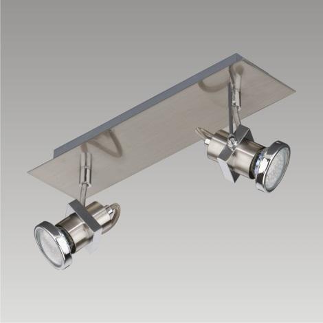 PREZENT 27105 - BORG LED-es fali/mennyezeti spotlámpa 2xGU10/2,3W