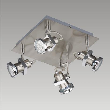 PREZENT 27106 - BORG LED-es fali/mennyezeti spotlámpa 4xGU10/2,3W