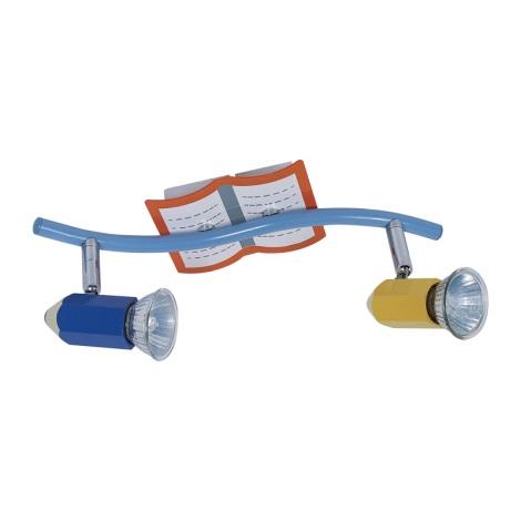 PREZENT 28009 - PENCIL gyerek mennyezeti lámpa 2xGU10/50W