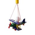 PREZENT 28181 - Kis repülőgép gyerek csillár 1xE27/60W