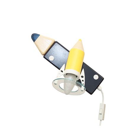 PREZENT 28291 - PASTELKA gyerek fali lámpa 1xE14/25W