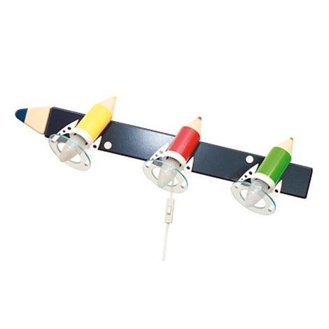 PREZENT 28299 - PASTELKA gyerek fali lámpa 3xE14/25W