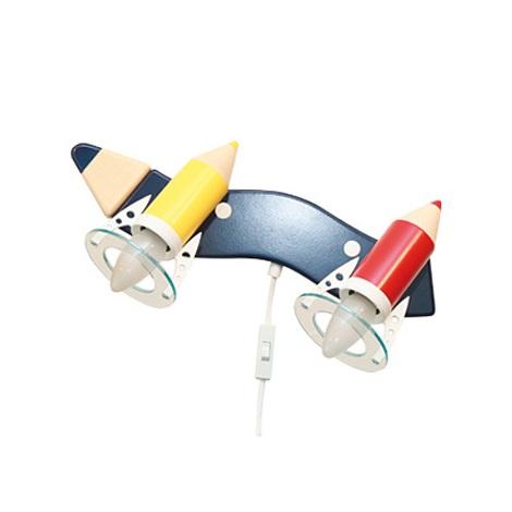 PREZENT 28311 - PASTELKA gyerek fali lámpa 2xE14/25W