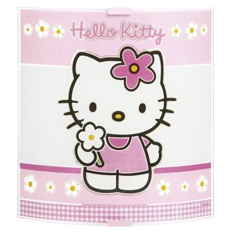 PREZENT 28340 - HELLO KITTY gyerek fali lámpa 1xE27/60W