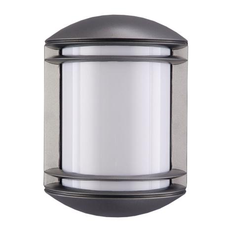 PREZENT 3003 - NEW YORK kültéri fali lámpa 1xE27/60W sötét ezüst IP54