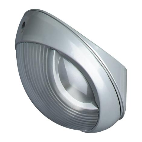 PREZENT 3026 - RUGBY kültéri fali lámpa 1xE27/60W ezüst IP54
