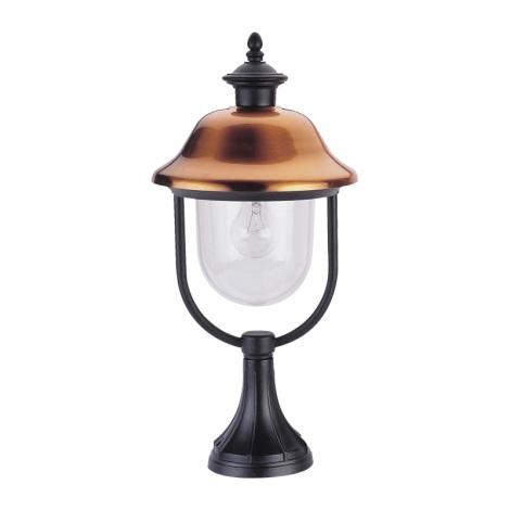 PREZENT 3056 - SANGHAI kültéri lámpa 1xE27/60W vörösréz IP44