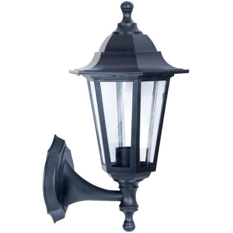 PREZENT 3080 - CAPRI kültéri lámpa 1xE27/60W fekete IP44