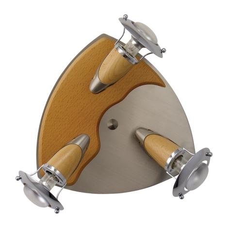 PREZENT 320 - ZEUS mennyezeti lámpa 3xE14/R50/40W