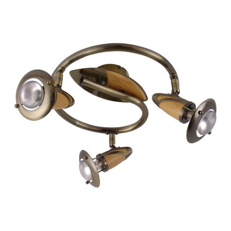PREZENT 324 - ZEUS mennyezeti lámpa 3xE14/R50/40W