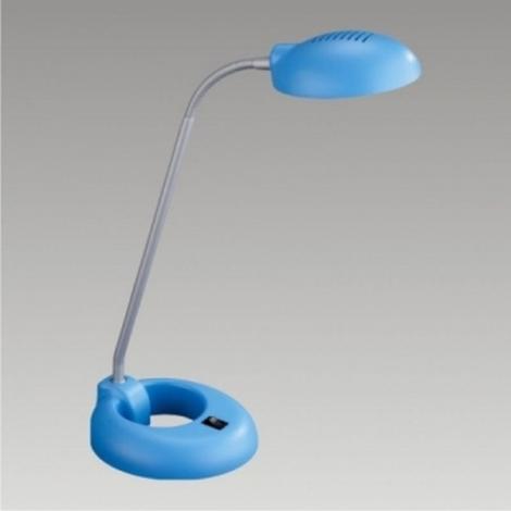 PREZENT 33014 - PEDRO asztali lámpa 1xG9/40W kék