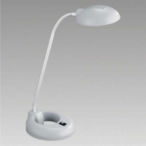 PREZENT 33015 - PEDRO asztali lámpa 1xG9/40W ezüst