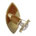 PREZENT 332 - ZEUS fali lámpa 1xE14/R50/40W sötét fa
